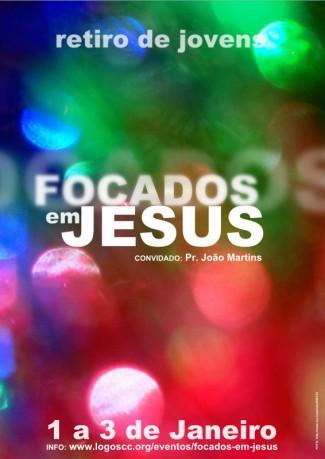 Focados em Jesus - Cartaz